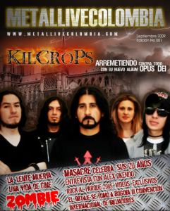 Primera Edición revista virtual Metal Live Colombia
